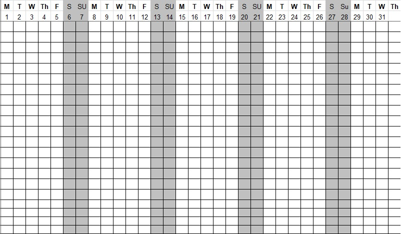 employee monthly attendance sheet xls download