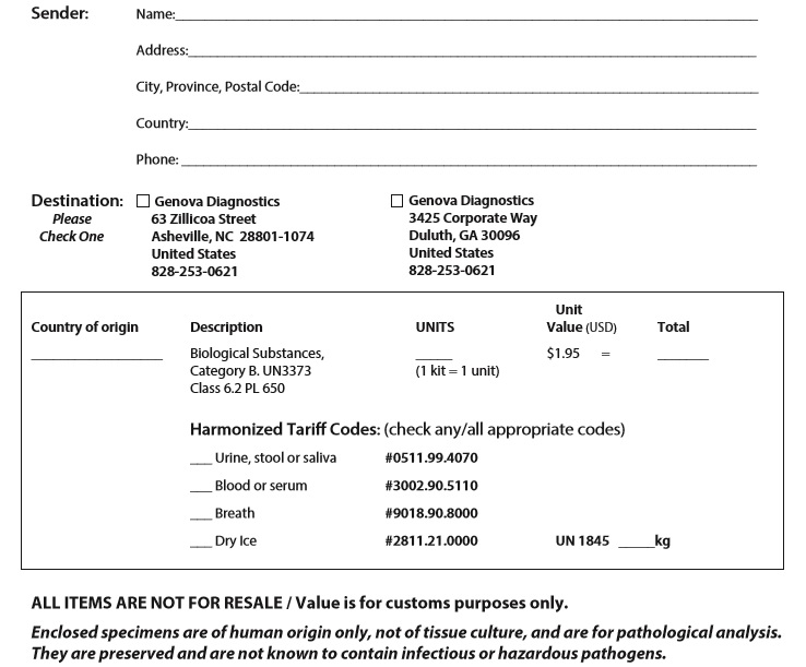 international commercial invoice template