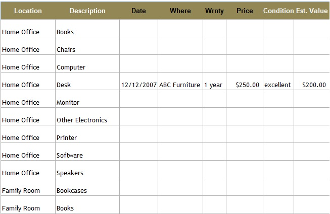 inventory management excel template