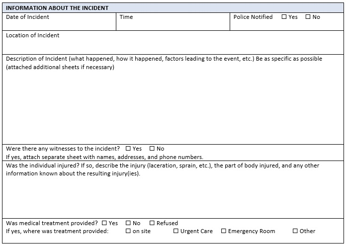 employee incident report pdf
