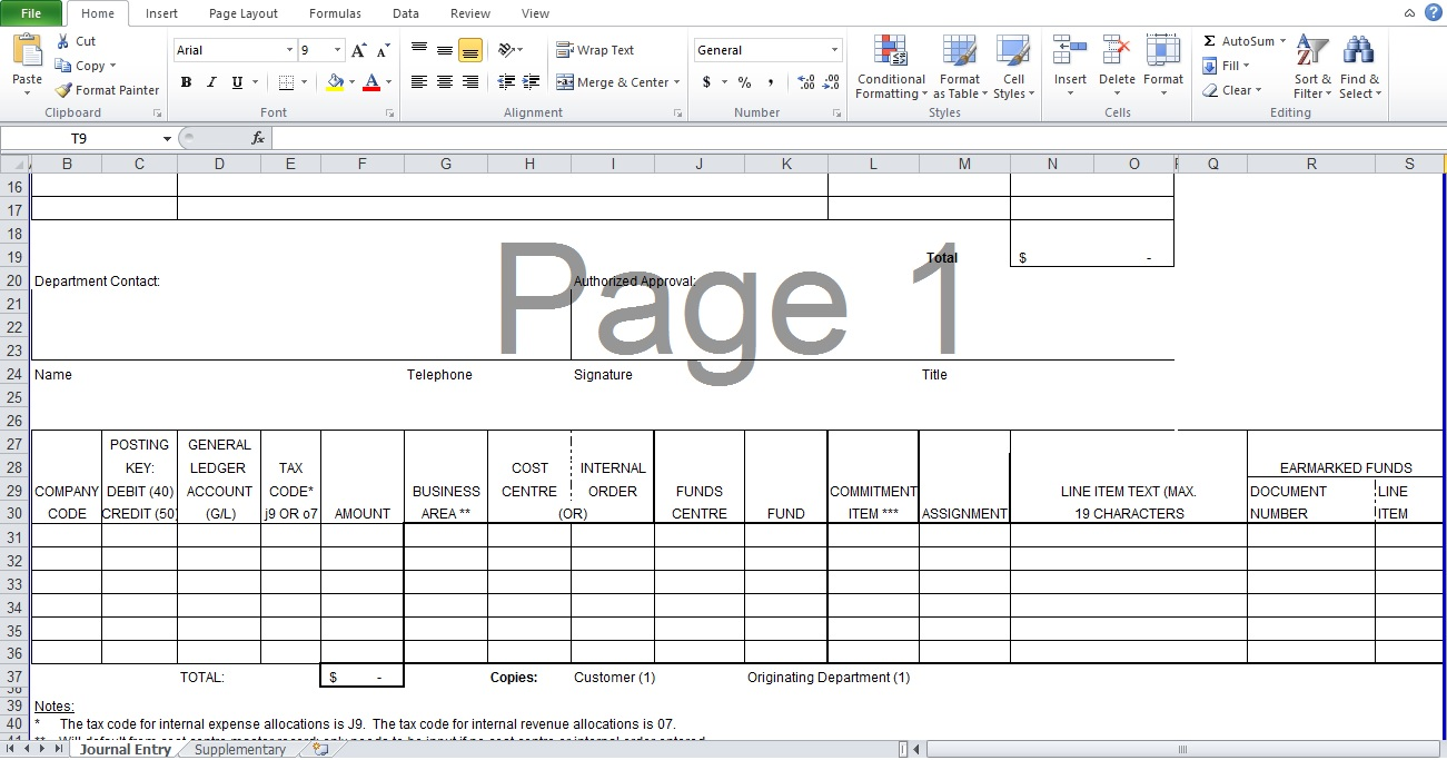 Debit Note Template Excel Format