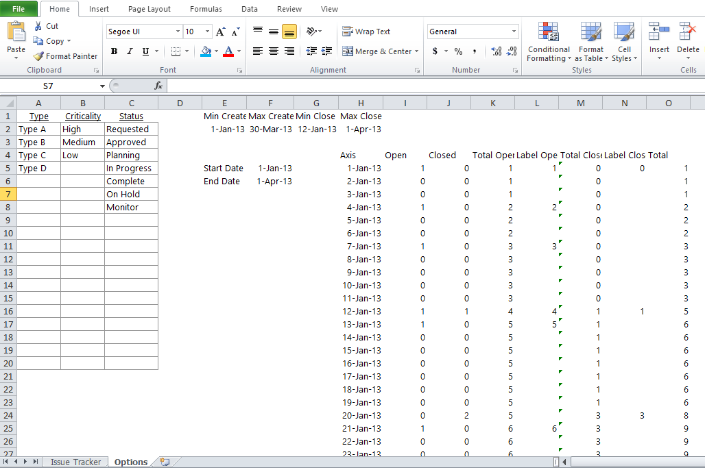 Issue Tracker Excel Template Issue Tracking Management Excel