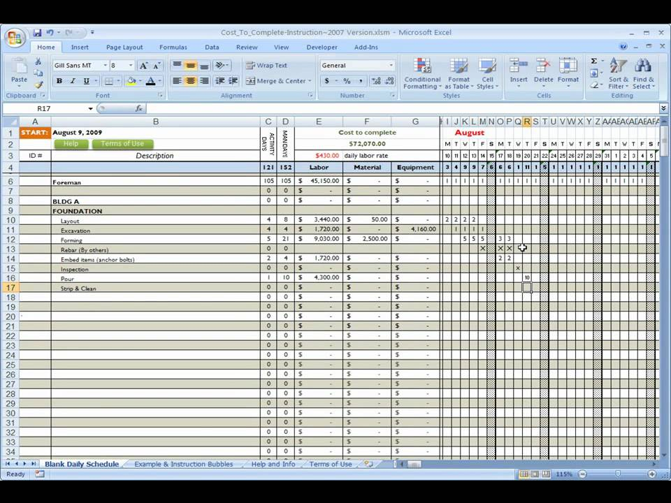 Free download professional material list template excel tmp for Construction material list template