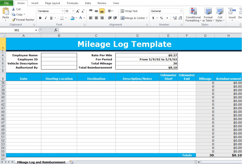 Excel Calculator Template