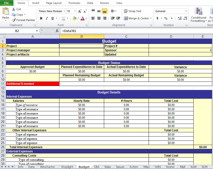 Work plan gantt chart template 2