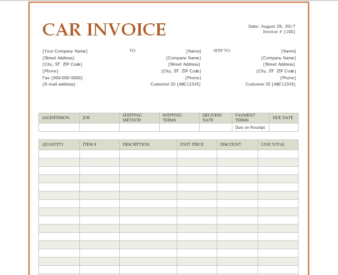 Receipt Scanner Software Pdf Car Sale Invoice Template Word  Excel  Pdf  Excel Tmp How Do I Find Dealer Invoice Price Pdf with Medical Bill Receipt Word Car Sale Invoice Template Word Toys R Us Receipt Lookup