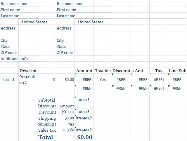 Paypal Invoice Template Download Pasoevolistco - Paypal invoice template