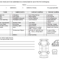 vehicle log book format DOC