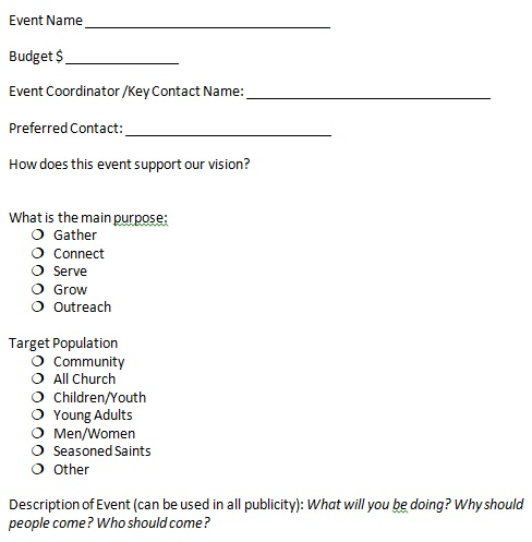 corporate event planning checklist template