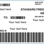 Free Printable Shipping Label Templates (Word, PDF)