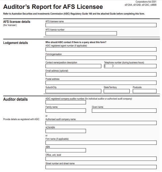 qualified audit report