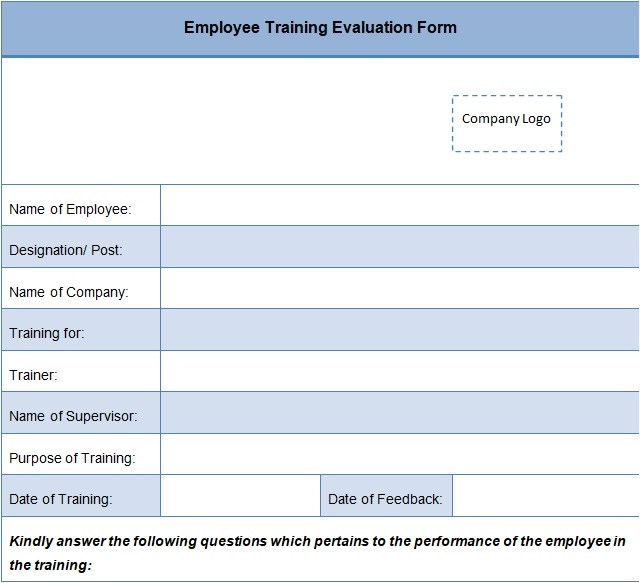 free printable employee evaluation template