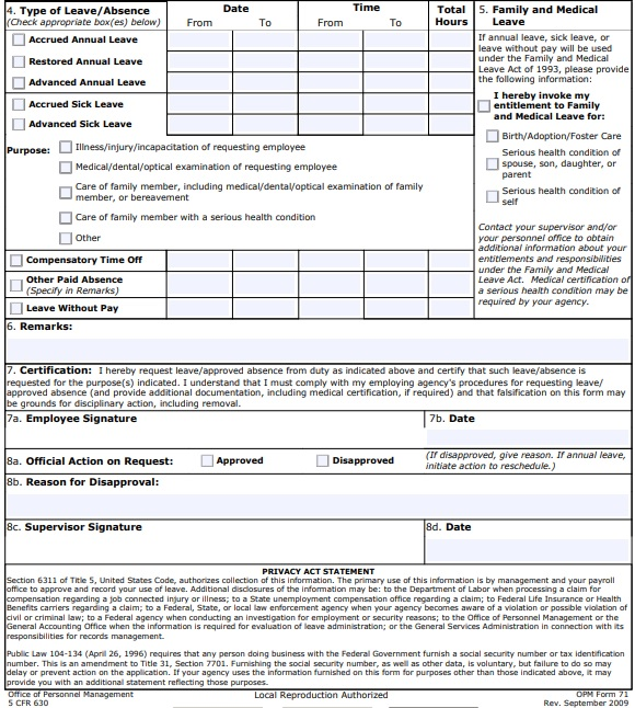 request form for leave
