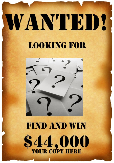 wanted poster example