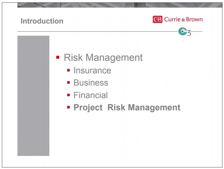 project risk management timeline template