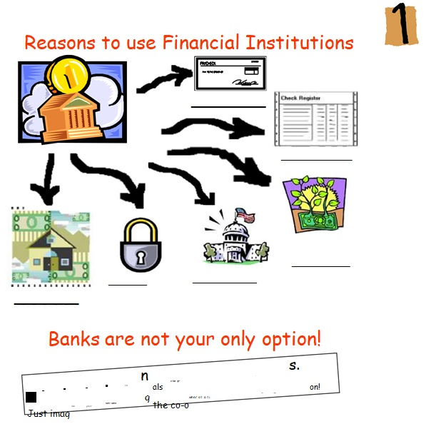 banking with a financial institution template