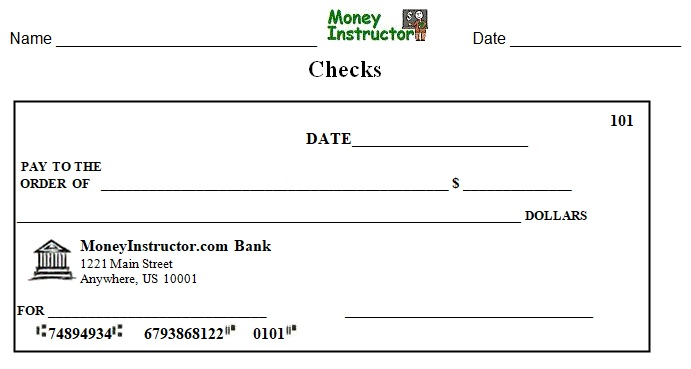 blank cheque template editable