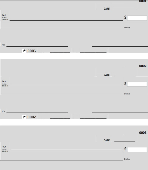 general blank check template