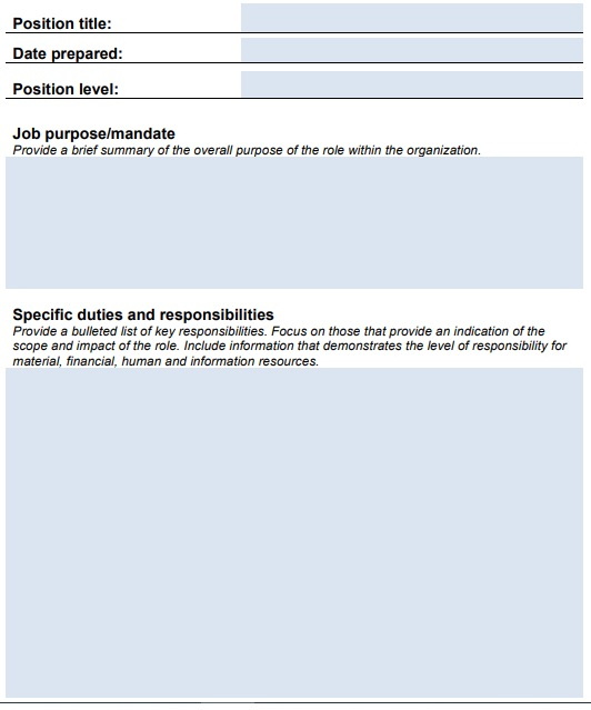 operations manager job description template