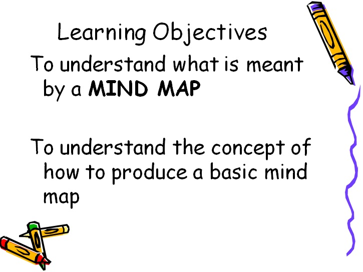 mind map template for students
