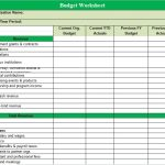 Download Free NonProfit Budget Template (Excel, PDF)