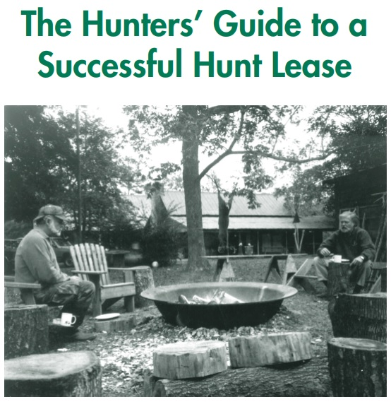 hunters guide to a successful hunt lease template