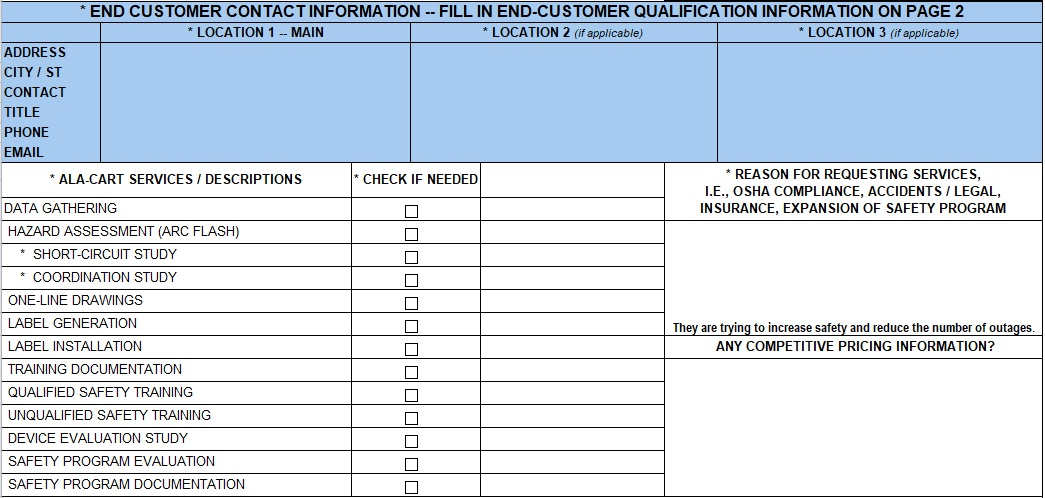 site equipment inventory list template