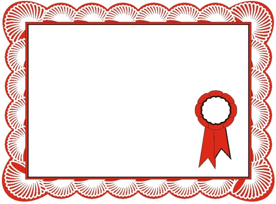 certificate frame design free download