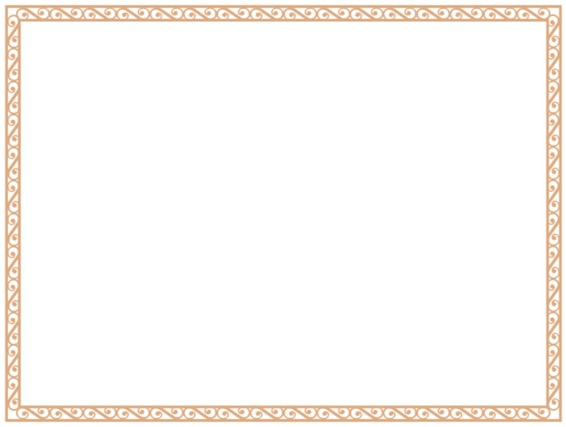 formal border design for certificate